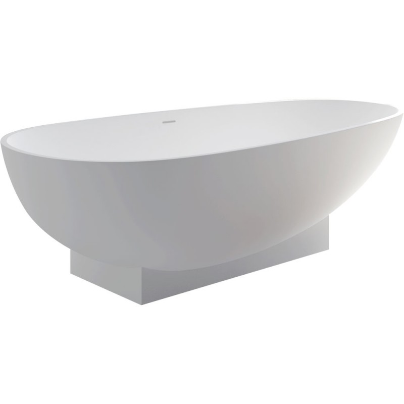Fienza Lahoona Matte White Stone Bath