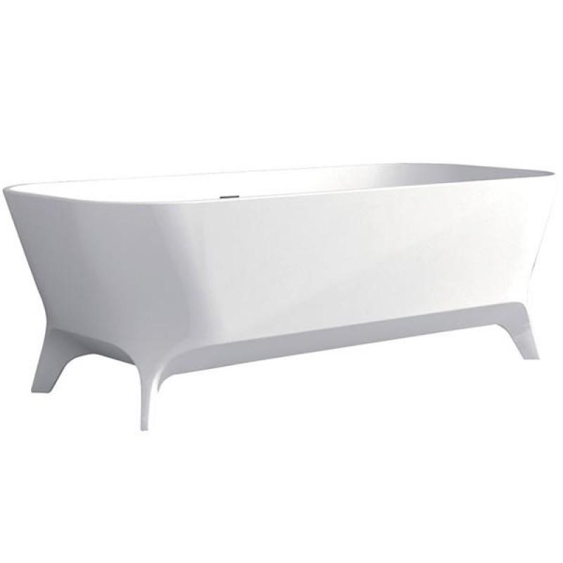 Fienza Hampton Matte White Stone Bath