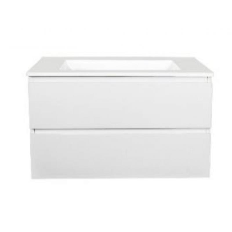 Polyurethane Gloss White Vanity 600mm-1500mm