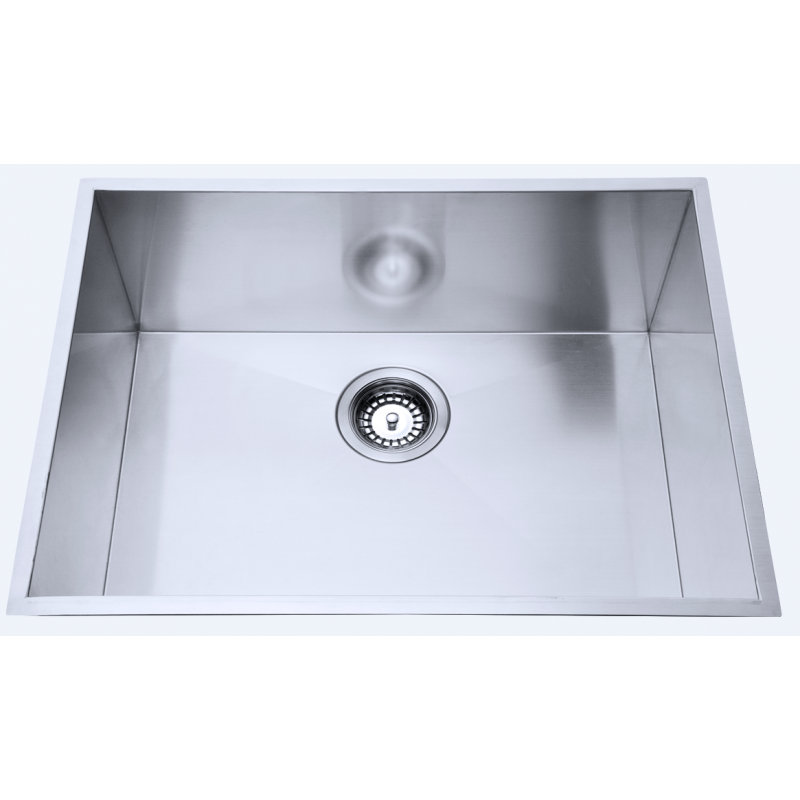 580 x 440 x 230mm Kitchen Sink with Round Corner