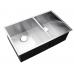 600 x 440 x 230mm  ONE & 1/2 BOWL Kitchen Sink with Round Corner