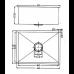 440 x 440 x 230mm Kitchen Sink with Round Corner