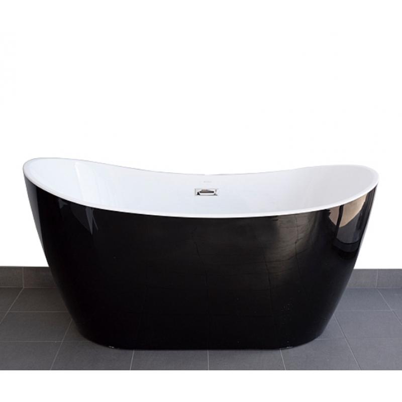 1500mm, 1700mm VIVA Black Free Standing bath tub from