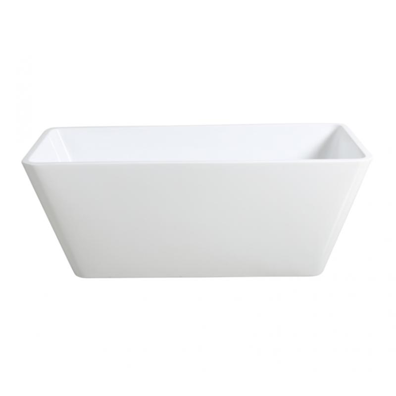 1400mm, 1500mm, 1700mm Qubist Free Standing bath tub from