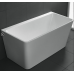 1500mm, 1700mm  Milano Back to Wall Bath Tub from