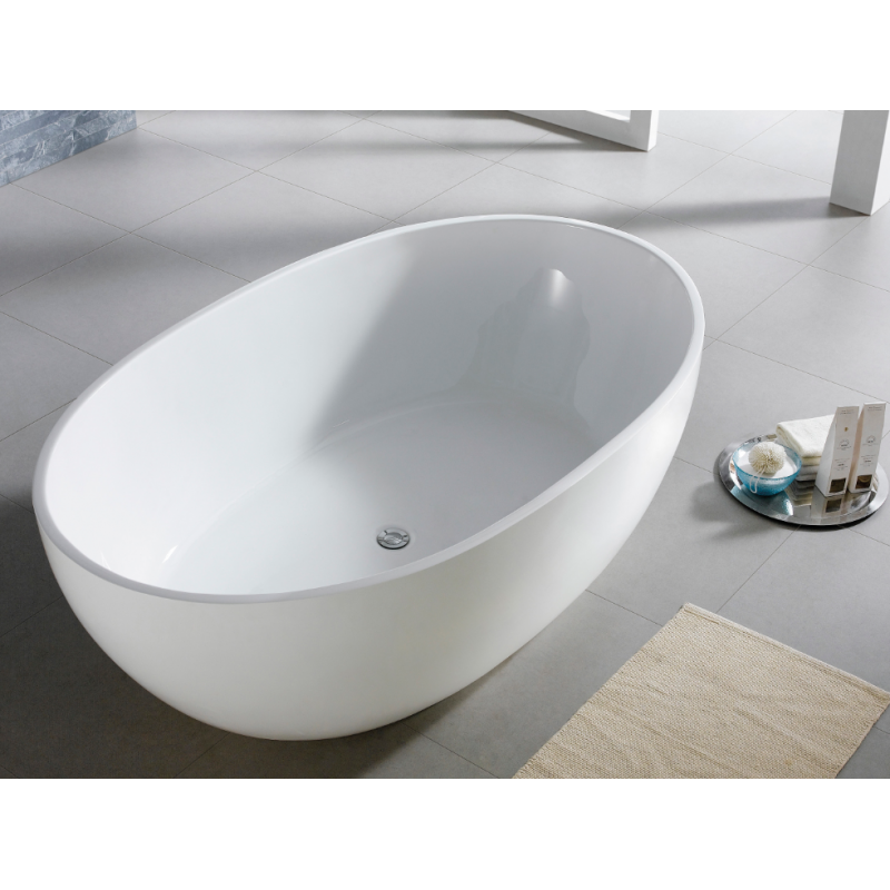 1400mm, 1530mm, 1690mm, 1800mm Olivia Free Standing bath tub from