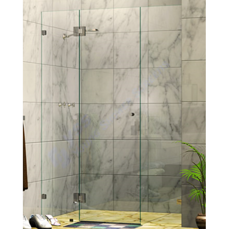 1310 - 2400MM Frameless with 3 Panels from