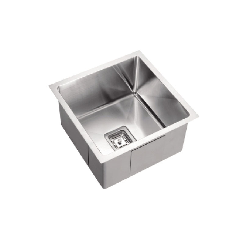 455 x 450x 235mm Kitchen Sink with Round Corner