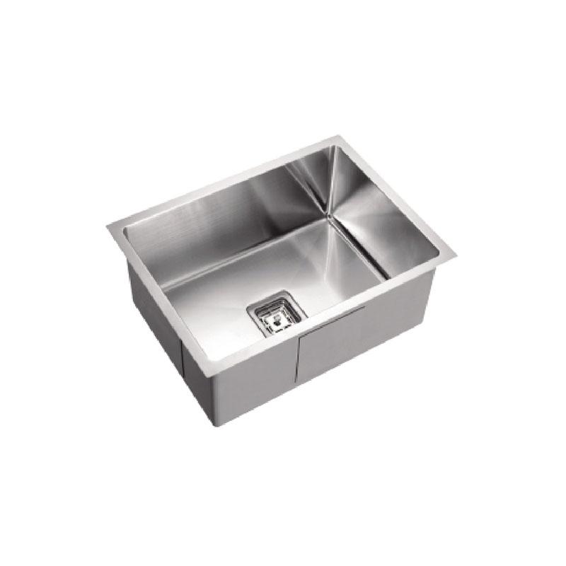 600x 450x  235mm Kitchen Sink with Round Corner