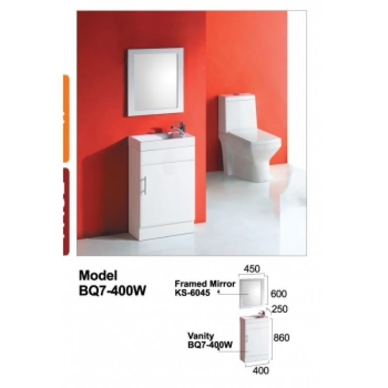 Skinny Vanity BQ7-400W  396*218*800