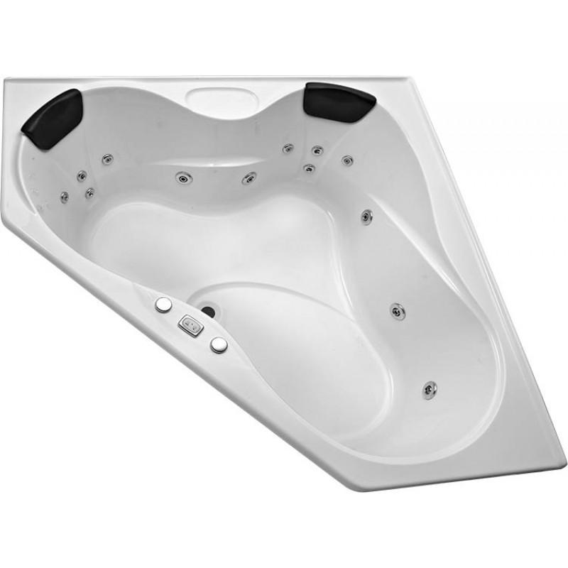 Corner Spa Bath Alcazar 1515mm x 1515mm x 500mm